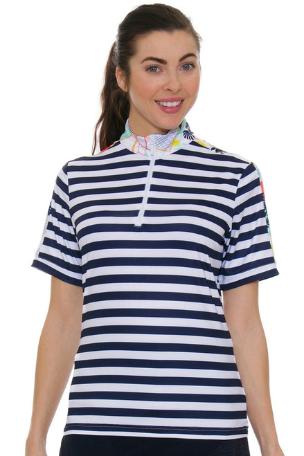 GGBlue Women's Unify Gwen Golf Polo Shirt