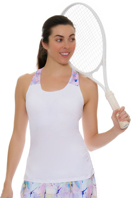 Fila Women's Elite Ruched Tennis Tank