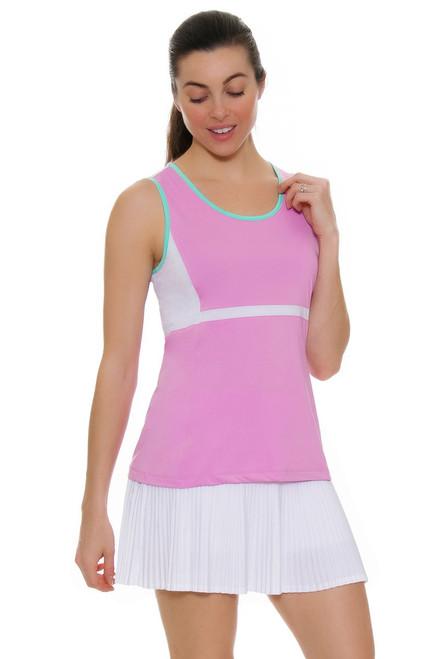 Fila Women's Elite Pleated White Tennis Skirt