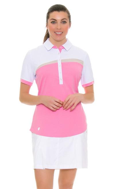 GGBlue Women's Inspire White Boca Golf Skort GG-K3011-B022 Image 1