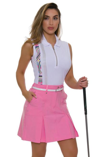 GGBlue Women's Inspire Boca Rose Golf Skort
