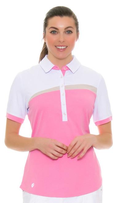 GGBlue Women's Inspire Kesha Golf Short Sleeve Shirt GG-E1016-3563 Image 1