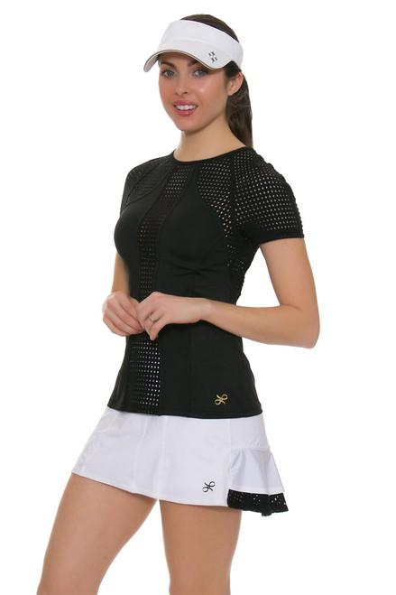 Gemmeo Women's Ruffle Mesh Tennis Skirt GEM-Gem101 Image 6