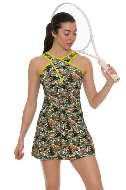 BPassionit Women's GI Girl Cross Over Tennis Dress BP-60985 Image 1