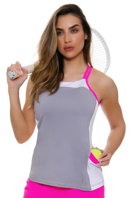 Sofibella Women's Rio Pocket Cami Tennis Top