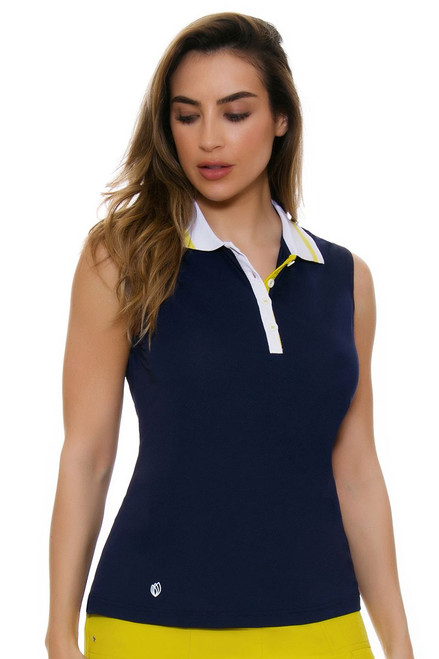 GGBlue Women's Escapade Holly Golf Sleeveless Shirt