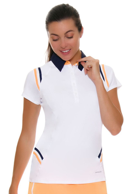 Annika Women's Courage Players Golf Short Sleeve Polo