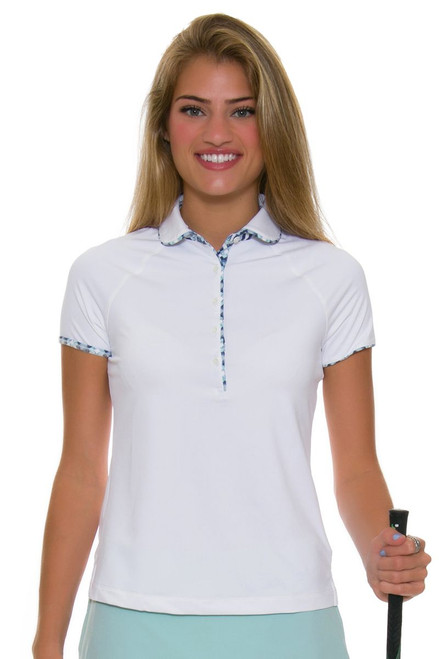 Fairway and Greene Women's Back Splash Bella Golf Polo Shirt