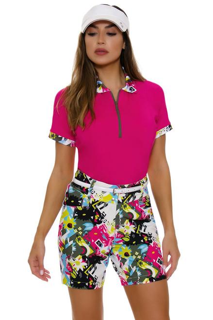 """GGBlue Women's Pursuit 17"""" Bunker Golf Shorts"""