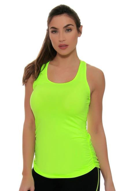 New Balance Perfect Lime Glo Workout Tank