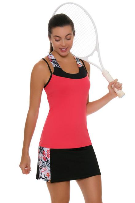 "Sofibella Women's Melbourne Side to Side 15"" Tennis Skirt"