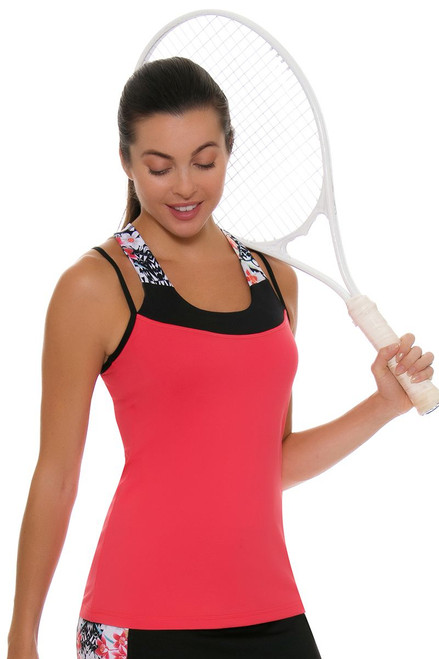 Sofibella Women's Melbourne Grace Tennis Tank