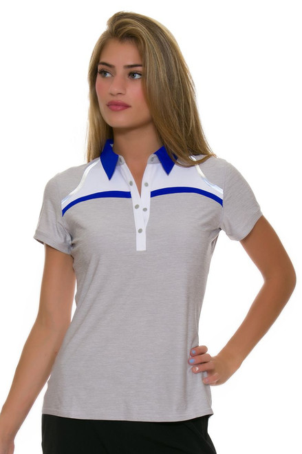 Annika Women's Hero Relay Golf Cap Sleeve Polo