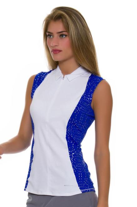 Annika Women's Hero Colorblock Golf Sleeveless Shirt