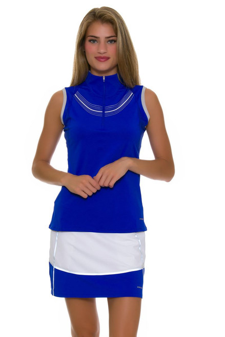 Annika Women's Hero Colorblock Pull On Golf Skort