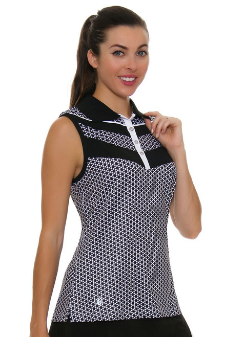 GGBlue Women's Velocity Sonia Golf Sleeveless Shirt