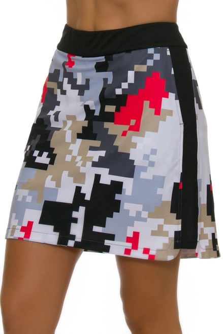 c9c3611b226 ... EP Pro NY Women s Gold Standard Abstract Puzzle Pull On Golf Skort- ...