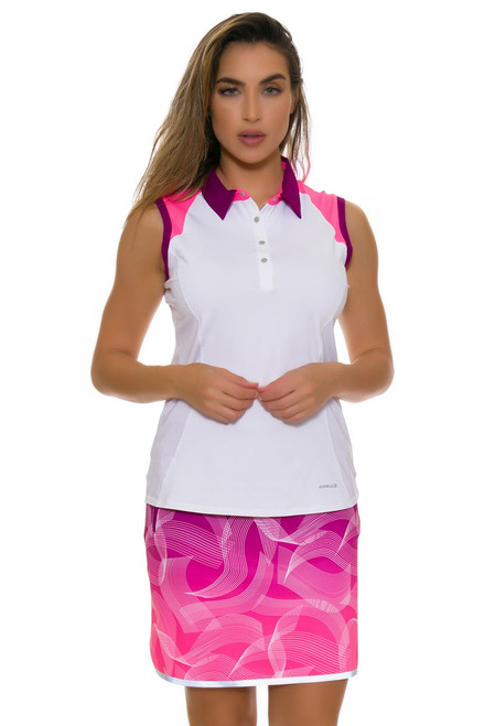 Annika Women's Intuition Printed Pull On Golf Skort