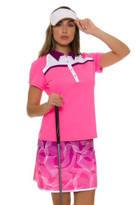 Annika Women's Intuition Printed Pull On Golf Skort