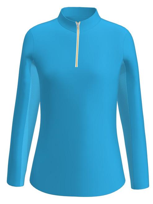 Allie Burke Sky Blue UV 40 Sun Shirt