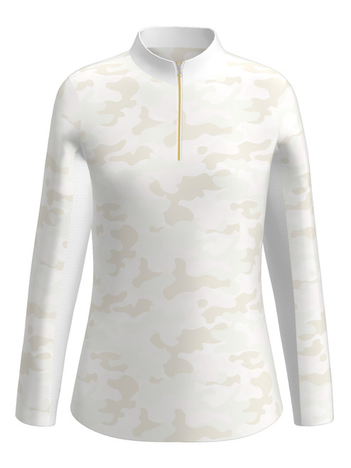 Allie Burke Camo UV 40 Sun Shirt