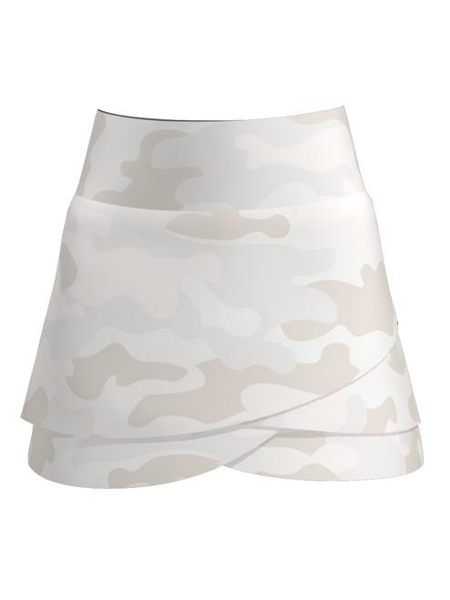 Allie Burke Women's Camo Print Scallop Tennis Skirt  (BSKT03-CAMO)