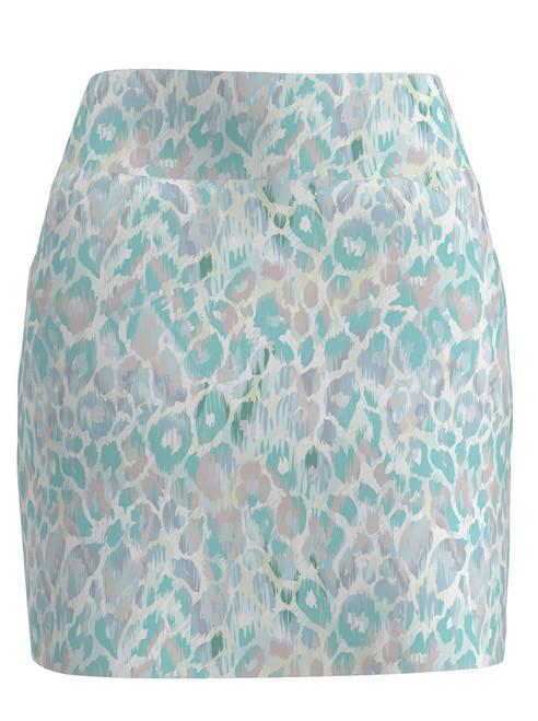 Allie Burke Animal Skin Print Pull On Golf Skort  (BSKG01-ANMTA)
