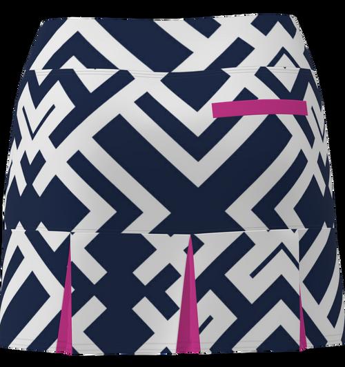 AB SPORT Women's Back Pleat Golf Skirt - GEONWO