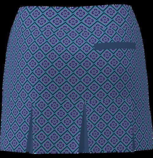 AB SPORT Women's Back Pleat Golf Skirt - CLOVER1D