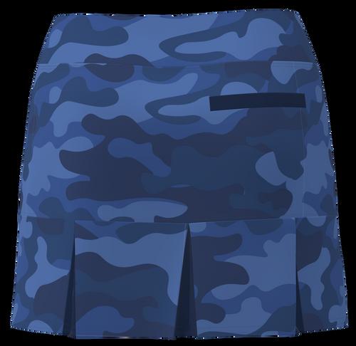 AB SPORT Women's Back Pleat Golf Skirt - CAMONV90