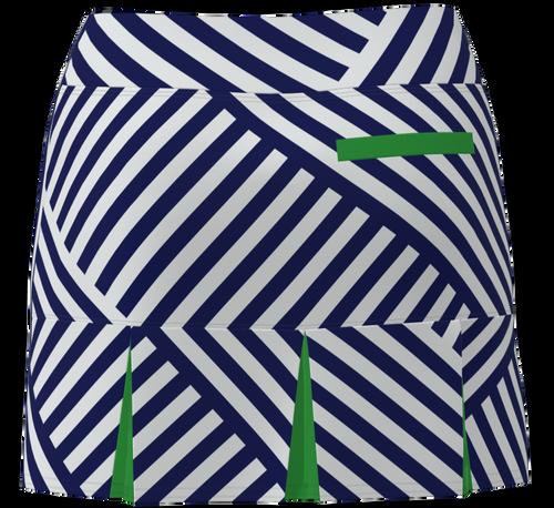 AB SPORT Women's Back Pleat Golf Skirt BSKG05-NCGG