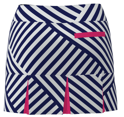 AB SPORT Women's Back Pleat Golf Skirt BSKG05-NCGP