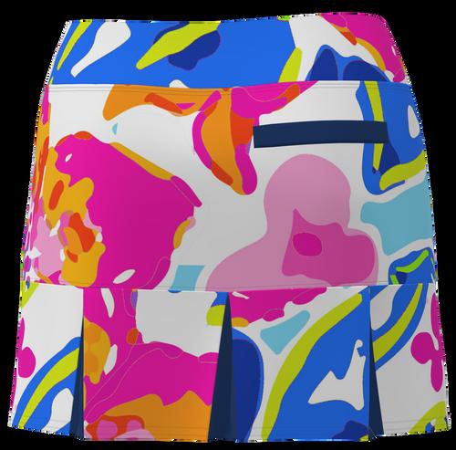 AB SPORT Women's Back Pleat Golf Skirt - YWF6L