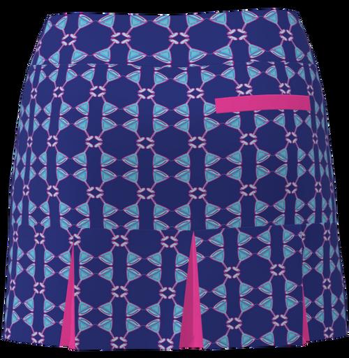 AB SPORT Women's Back Pleat Golf Skirt - MART4D2