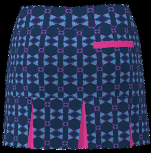 AB SPORT Women's Back Pleat Golf Skirt - MART4KSHP2
