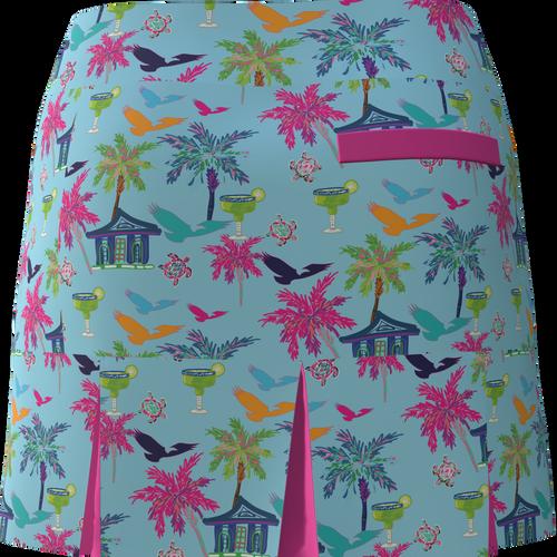 AB SPORT Women's Back Pleat Golf Skirt-HR5D