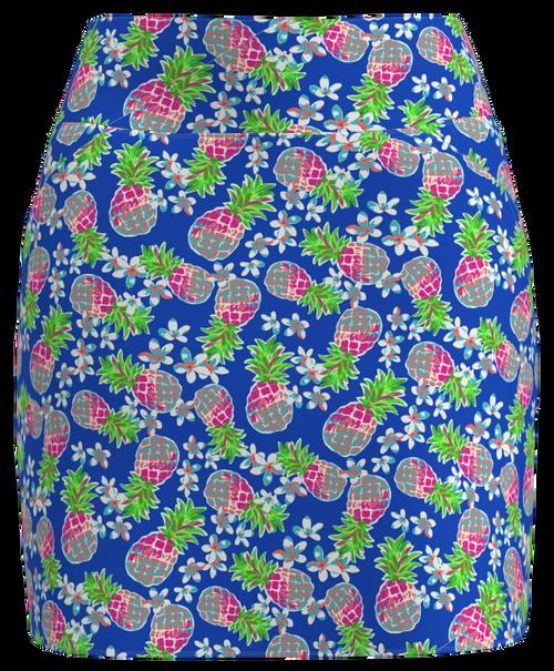 AB Sport Women's Pineapple Print Front Pocket Golf Skirt