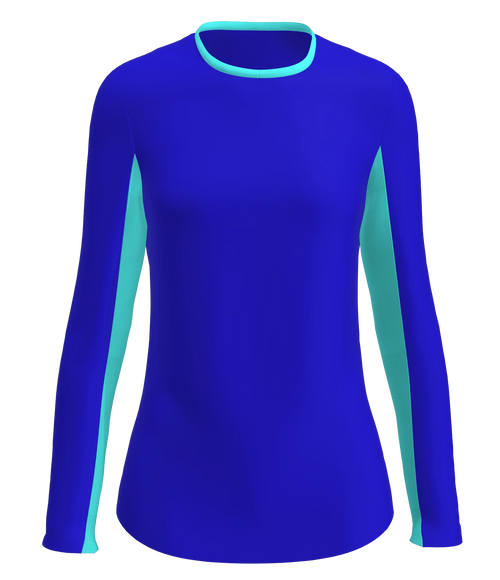 AB SPORT Women's Sun Shirt SU002-ROYSB
