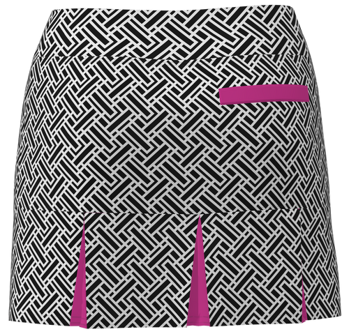 AB SPORT Women's Back Pleat Golf Skirt-GEO4BWSP