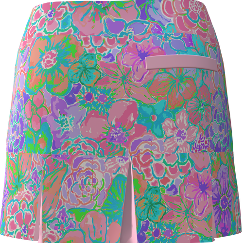 AB Sport Women's Back Pleat Golf Skirt - CAYG7P
