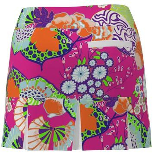 AB Sport Women's Back Pleat Golf Skirt - JPGPW
