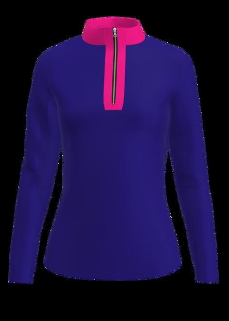 AB Sport Women's Long Sleeve UV 40 Sun Shirt-ROYHP