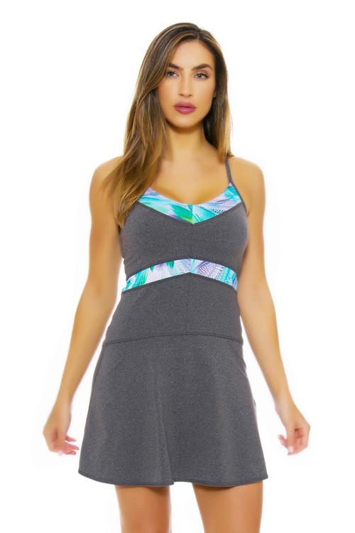 Tonic Active Women S Fern Power Tennis Dress Ta Dft8054