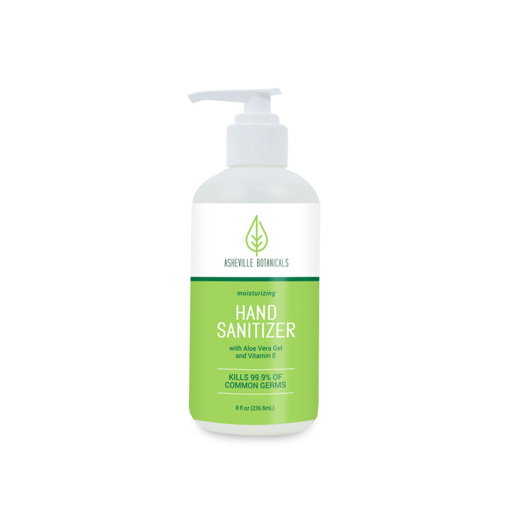 Asheville Botanicals Hand Sanitizer - 8 oz pump