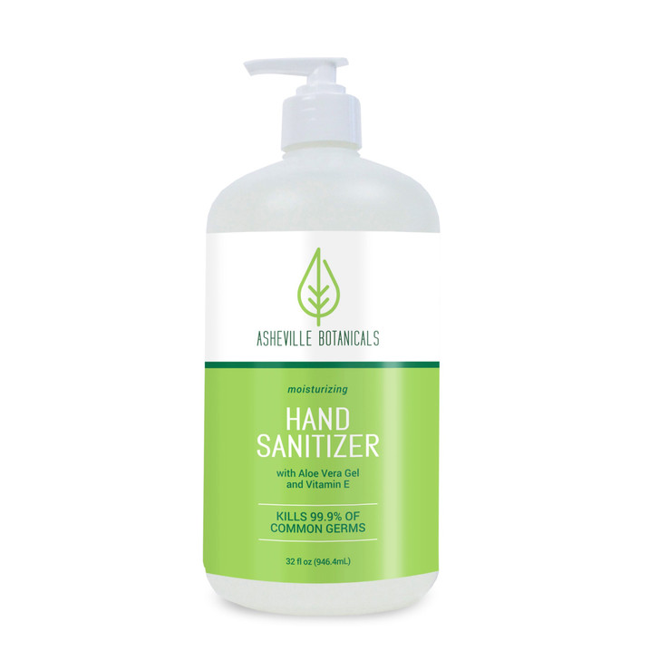 Asheville Botanicals Hand Sanitizer - 32 oz pump