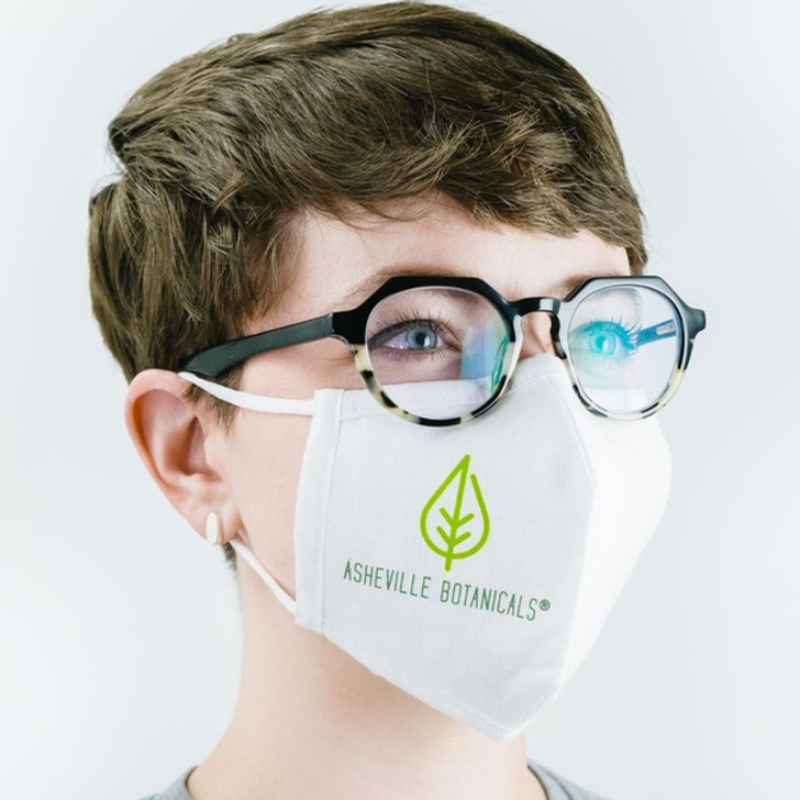 Asheville Botanicals Hemp Mask with HeiQ V-Block Protection