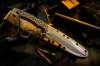Horkos FDE Blade w/Green Handle