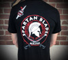 Spartan Blades Tri-Color Tri-Blend T-Shirt Back