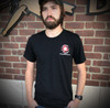 Spartan Blades Tri-Color Tri-Blend T-Shirt Front