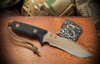 Ronin Shinto - Flat Dark Earth PVD Blade with Black Micarta Handle